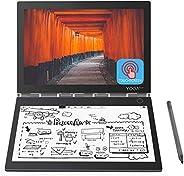 2019 *新款联想瑜伽书 C930 10.8 英寸双显示器 QHD 2560 x 1600 IPS 和 FHD 1920 x 1080 E 墨水移动触摸屏轻质活动笔 Intel Core i5-7Y54 高达 3.2G