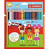 STABILO 1924/77 – 11 – 彩色铅笔, 手工制作/学习用品, 24件