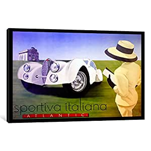 iCanvasART VAC119-1PC6-26x18 sportiva Canvas Print by Vintage Apple Collection, 26 by 18-Inch, 1.5-Inch Deep