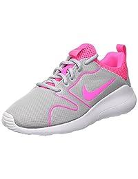 Nike 女式 WMNS Kaishi 2.0 体操鞋,白色,4.5 码