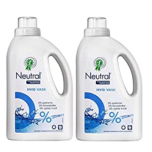 Neutral 挚纯 浓缩纯净洗衣液750g*2瓶 无香精 无色素 无荧光增白剂(进口)