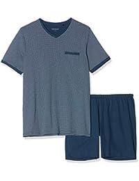 SCHIESSER 男式 anzug kurz pyjama 下装