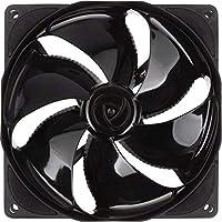 Noiseblocker NB-eLoop 系列 B12-PS 黑色版 120mm PWM Bionic Loop 转子风扇,1500rpm,21 dBA