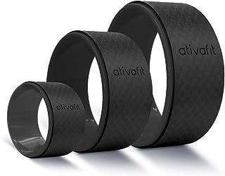 ATIVAFIT 瑜伽轮套装 - 黑色