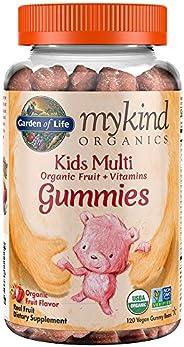 Garden of Life 生命花园 Mykind 儿童多种维生素软糖,120 粒 120 Vitamin Gummies 120