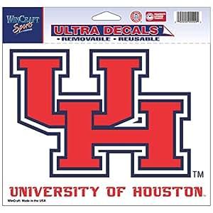 Wincraft Houston Cougars 官方 NCAA 4.5 英寸 x 6 英寸车窗贴膜贴花
