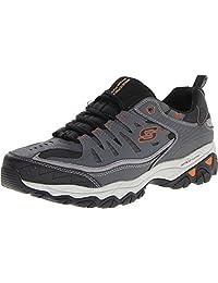 Skechers 斯凯奇 男士加力记忆泡沫系带运动鞋