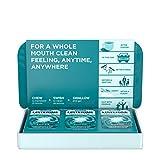 接听待! Tabs Chewable Tablets 清洁薄荷味,革命性 4 小时新鲜口腔片帮助在途中消除口腔,无糖,无*精,56 克拉