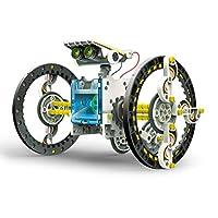 "Elenco 埃伦克 教技术"" SolarBot.14"",变形太阳能机器人套件,STEM儿童学习玩具 10岁以上"