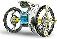 "Elenco 埃倫克 教技術"" SolarBot.14"",變形太陽能機器人套件,STEM兒童學習玩具 10歲以上"