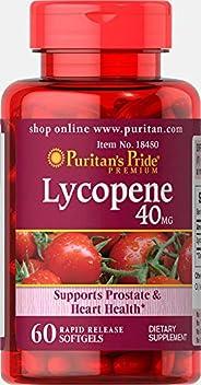 Puritan's Pride 普丽普莱 番茄红素 40毫克,60粒快速释