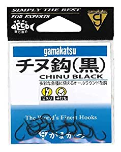 伽玛卡兹(Gamakatsu) 斜纹布(黑) 钩子 11号 鱼钩
