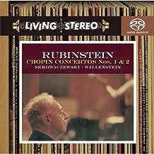 进口CD:肖邦第一、二号钢琴协奏曲\史寇瓦泽夫斯基(指挥)\鲁宾斯坦(钢琴)(CD)(82876679022)