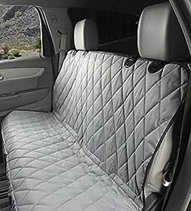 Pader Je 后部防水防滑背靠座椅套,适用于汽车、卡车和越野车,147.32 厘米 x 137.16 厘米,灰色