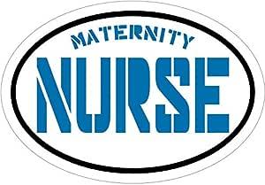 蓝色孕妇*乙烯基窗户贴花 - RN 保险杠贴纸 - Pinning LPN RN CNA 礼物