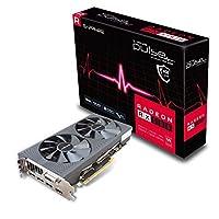 Sapphire 蓝宝石 Pulse Radeon RX 580 4G GDDR5双HDMI/DVI-D/双DP显卡 - 黑色