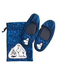MOOMIN 旅行系列 折叠拖鞋(带拉绳)姆明和皮带鞋MMAP3000
