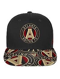 MLS 青年男孩平帽檐后扣帽