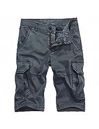 GTU 男装 柔软纯棉工装风短裤 男士休闲短裤夏装新款5分休闲裤