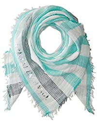 A√X Armani Exchange 女式条纹围巾