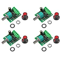 4 件装低电压直流电机速度控制器,MELIFE 1.8V 3V 5V 6V 7.2V 12V 2A 30W 可调节 PWM 1803BK 1803B 可调节驱动器开关