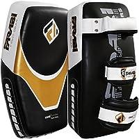 Farabi Kick Shield 泰国 MMA Muay 泰拳盾弧形垫武术训练垫拳击攻击垫弧形臂垫MMA 聚焦垫泥浆拳击击护盾