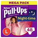 Huggies 女士拉拉裤夜间如厕训练裤,中号,56 条裤子