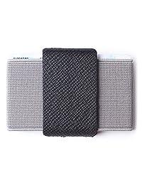 超薄钱包前口袋极简薄信用卡包迷你尺寸男式和女式
