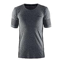 Craft 男士 蓝标舒适运动短袖速干透气防摩擦马拉松跑步T恤体恤健身训练上衣 190491601