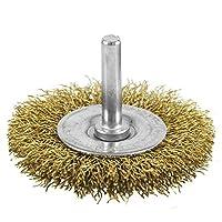 EAB Tool 2160401 6.35 厘米黄铜细线轮刷 - 可回收,