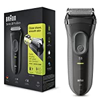 Braun Series 3 ProSkin 3000s Electric Shaver/Rechargeable Electric Razor - Black