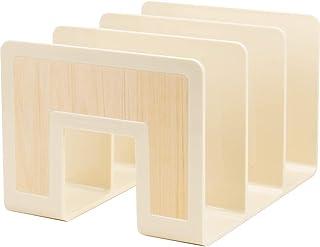 SEKISEI 木质置物架 A4 自然棕色 WDS-8265-54
