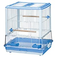 Marukan 鸟笼 清洁 蓝色 (420×350×460)