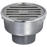 三荣水栓 【浴室排水口用单圈】 排水口SU、VU管两用 75X40 H50-75X40