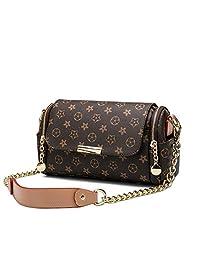 Wallet men 时尚女式链条手提包印花单肩包-180411#