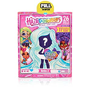 美国 Hairdorables 美发娃娃