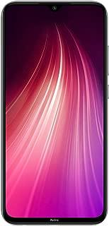 """小米 Redmi Note 8 64GB + 4GB 内存,6.3"""" LTE 48MP 工厂解锁 GSM 智能手机 - 国际版M1908C3GJ-WH 白色"""