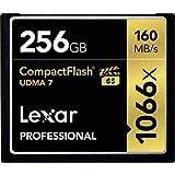 Lexar Professional 256GB 1066x Speed (160MB/s) UDMA 7 CompactFlash Memory Card