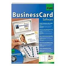 Sigel sw670 Business Card 软件 – gestaltungs - 软件包括200名片
