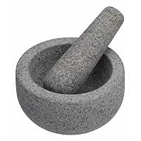 "Master Class Granite Pestle and Mortar, 12 x 9 cm (4.5"" x 3.5"") - Grey"