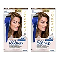 CLAIROL Nice N' Easy Root Touch Up,0035r,深褐色,2支裝 2片裝