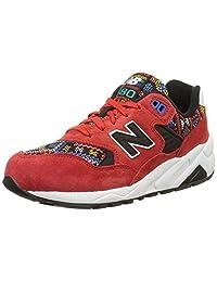 New Balance * 女 休闲跑步鞋 WRT580HS 红色/黑色/多色 39 (UK 6)