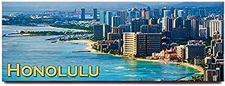 Honolulu Waikiki 全景冰箱贴 Oahu 夏威夷旅游纪念品