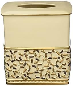 Popular Bath Confetti Tissue Box, Beige