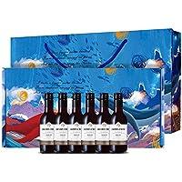 Jacob's Creek 杰卡斯 经典梅洛干红葡萄酒 187ml*6 礼盒装(澳洲进口红酒)(亚马逊自营商品, 由供应商配送)