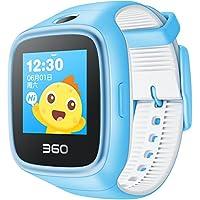360 儿童手表6W防水彩屏电话手表 智能拍照 智能问答 防丢防水GPS定位 天空蓝 W609