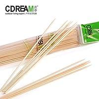 CDREAM逐梦 大号竹签 天然优质竹签 烧烤竹签