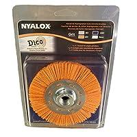 Dico 7200077 Nyalox 轮刷,11.43 厘米,橙色