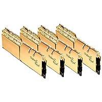 G.Skill 64GB DDR4 Trident Z 皇家金 3200Mhz PC4-25600 CL14 1.35V 四通道套件 (4x16GB)