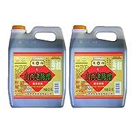 东湖6度老陈醋2.4L/桶山西特产凉拌饺子蟹醋泡黑豆纯粮酿造特产醋 (2.4L*2桶)